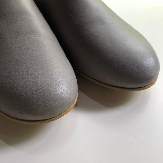que shoes plain Mサイズ プレーン グレー レディースの靴/シューズ(ローファー/革靴)の商品写真