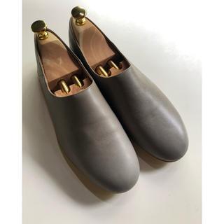 que shoes plain Mサイズ プレーン グレー