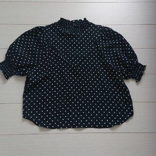 ディスコート(Discoat)のDiscoat ドットのトップス(シャツ/ブラウス(半袖/袖なし))