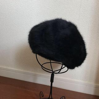 ローリーズファーム(LOWRYS FARM)のLowrys Farm ベレー帽 ファーベレー帽 秋冬(ハンチング/ベレー帽)