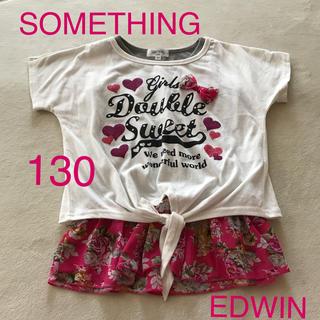 エドウィン(EDWIN)のサムシング  半袖Tシャツ(Tシャツ/カットソー)
