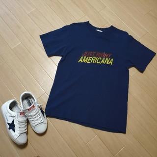 アメリカーナ(AMERICANA)のAmericanaアメリカーナ ポケット ロゴ Tシャツ(Tシャツ(半袖/袖なし))
