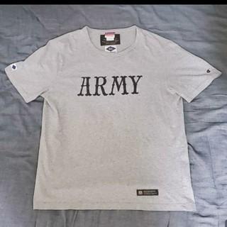 ネイバーフッド(NEIGHBORHOOD)のネイバーフッド×チャンピオン  コラボアーミーTシャツ(Tシャツ/カットソー(半袖/袖なし))