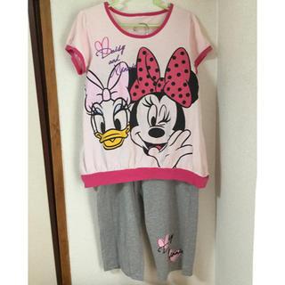 ディズニー(Disney)の半袖パジャマ 上下セット Disney 可愛い 女の子 子供(パジャマ)