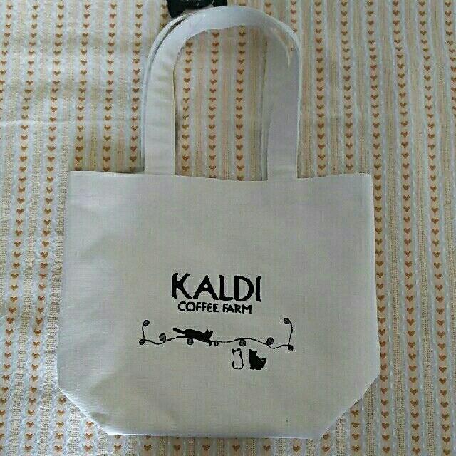 KALDI(カルディ)の未使用☆カルディ ネコの日トートバッグ レディースのバッグ(トートバッグ)の商品写真