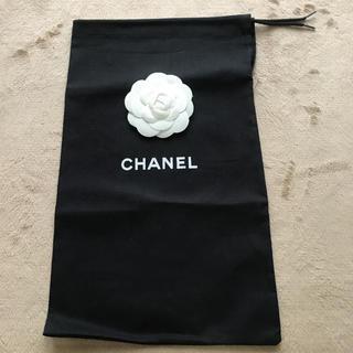CHANEL - CHANEL♡保存袋  コットン 黒 32.5  1枚