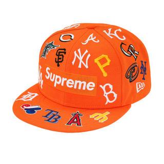 ニューエラー(NEW ERA)の【鑑定CLEAR】Supreme®/MLB New Era® オレンジ(キャップ)