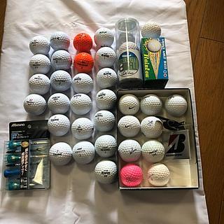 ゴルフ用品 ボール、未使用&使用済混在(ゴルフ)