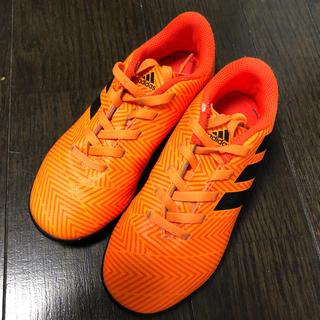 アディダス(adidas)のadidas キッズサッカーシューズ 18センチ トレーニングシューズ(シューズ)