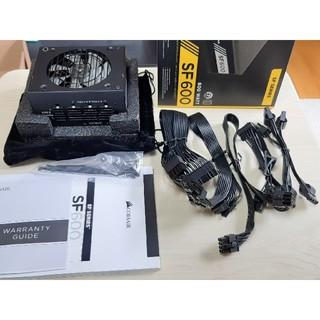 Corsair SF600 GOLD電源 mini itx(PCパーツ)