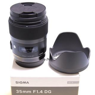 シグマ(SIGMA)のSIGMA 35mm F1.4 DG HSM Art <CanonEFマウント>(レンズ(単焦点))