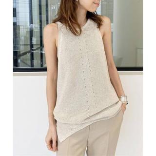 アパルトモンドゥーズィエムクラス(L'Appartement DEUXIEME CLASSE)のH/N Knit TOP(カットソー(半袖/袖なし))