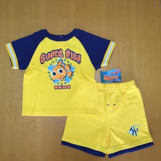 ディズニー(Disney)のディズニー 子ども 半袖 半ズボン セット 90cm (Tシャツ/カットソー)