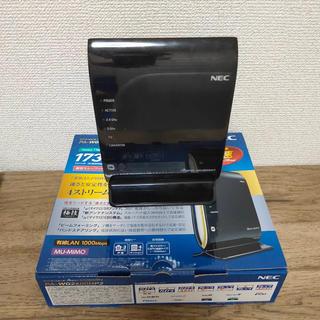 エヌイーシー(NEC)のNEC WiFi ルーター WG 2600HP2  無線LANルーター(PC周辺機器)