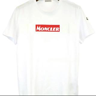 モンクレール(MONCLER)の★希少★ MONCLER Tシャツ M ワッペン ロゴ モンクレール 正規品(Tシャツ/カットソー(半袖/袖なし))