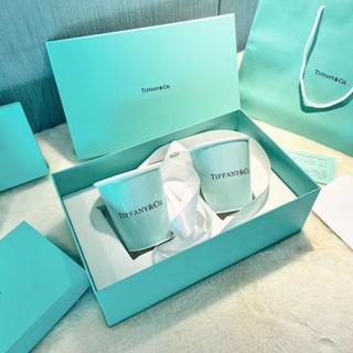 ティファニー(Tiffany & Co.)のボーンチャイナ ペーパー カップ(グラス/カップ)