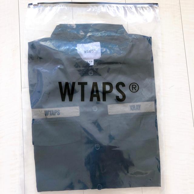 W)taps(ダブルタップス)のXLサイズ 20SS BUDS SS SHIRT. RAPO. POPLIN メンズのトップス(シャツ)の商品写真