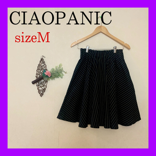 チャオパニック(Ciaopanic)の週末限定セール❗️チャオパニック ⭐️ ストライプフレアスカート(ミニスカート)