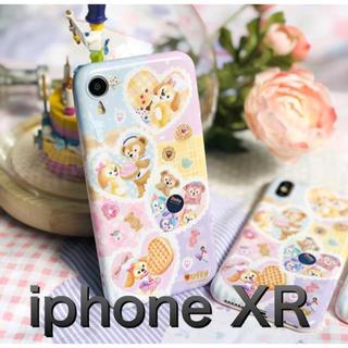 ディズニー(Disney)のダッフィー クッキーアン iphone XR スマホケース  ディズニー(iPhoneケース)
