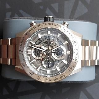 タグホイヤー(TAG Heuer)のタグ・ホイヤーカレラ キャリバーホイヤー01 クロノグラフ グレーファントム(腕時計(デジタル))