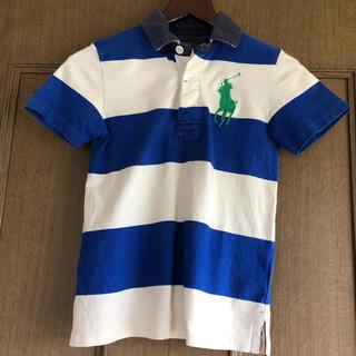 POLO RALPH LAUREN - ラルフローレン ボーダーポロシャツ サイズ7(130cm)