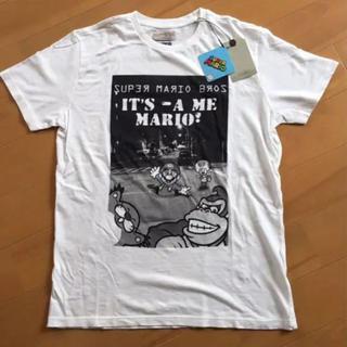 ザラ(ZARA)の新品 タグ付 ZARA BOYS スーパーマリオ Tシャツ 大人 マリオ(Tシャツ/カットソー)