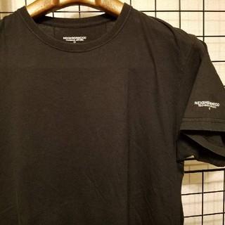 ネイバーフッド(NEIGHBORHOOD)のNEIGHBORHOOD 袖ワンポイントプリント入り 半袖カットソー/Tシャツ(Tシャツ/カットソー(半袖/袖なし))