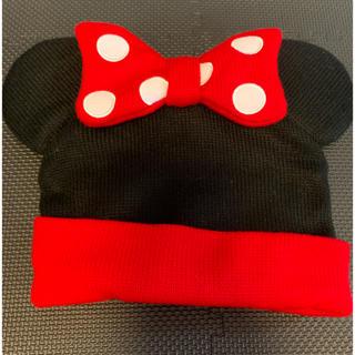 ディズニー(Disney)のTDS ニット帽 ミニーマウス(キャラクターグッズ)