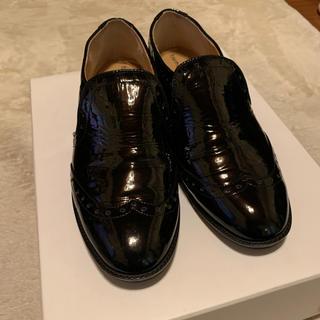 ツモリチサト(TSUMORI CHISATO)のtsumori chisato エナメル  ローファー(ローファー/革靴)