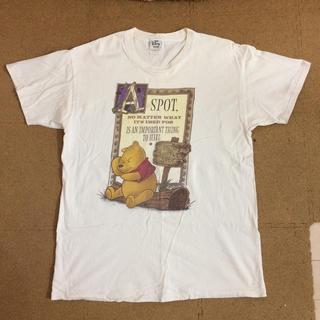 ディズニー(Disney)のくまのプーさんTシャツ フリーサイズ(Tシャツ/カットソー(半袖/袖なし))