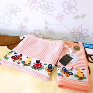 フェイラー(FEILER)のフェイラー ハイジ巾着袋&ハンカチセット(ランチボックス巾着)