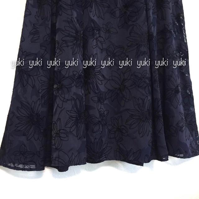 ANAYI(アナイ)のANAYI オパールフロッキーフレアーワンピース レディースのワンピース(ひざ丈ワンピース)の商品写真