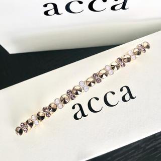 acca - 一回使用 acca 限定ベリー ロングバレッタ