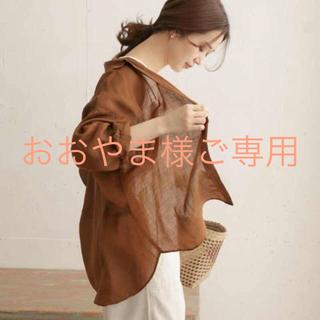 DOORS / URBAN RESEARCH - 新品☆アーバンリサーチ ドアーズ ラミーワイドシャツ ブラウン