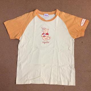 ディズニー(Disney)のくまのプーさんTシャツ レディースM(Tシャツ(半袖/袖なし))