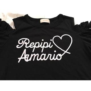 repipi armario - レピピアルマリオ☆肩空きTシャツ