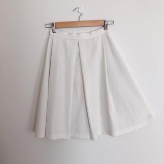 アンレリッシュ(UNRELISH)のUNRELISH 膝丈フレアスカート(ひざ丈スカート)