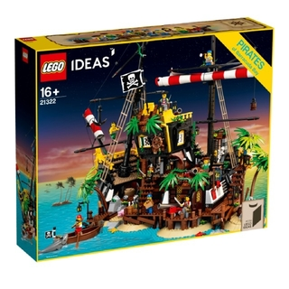 Lego - LEGO レゴ アイデア idea  21322 赤ひげ船長の海賊島