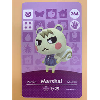 ニンテンドースイッチ(Nintendo Switch)のあつまれどうぶつの森 amiiboカード ジュン(カード)