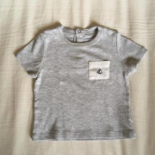 PETIT BATEAU - プチバトー Tシャツ 12M74cm