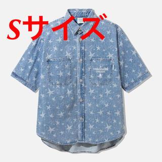 GU × STUDIO SEVEN デニムワークシャツ ブルー