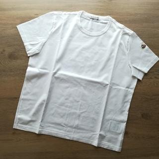 モンクレール(MONCLER)のリピーター様限定 新古品特価 サイズS ホワイト モンクレール レディース(Tシャツ(半袖/袖なし))