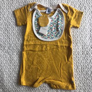 PETIT BATEAU - 新品 プチバトー   ベビー ロンパース  女の子 出産準備