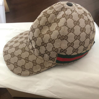 Gucci - GUCCI キャップ シェリーライン
