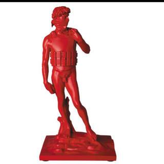 メディコムトイ(MEDICOM TOY)のSUICIDE MAN(RED Ver.) banksy sync 新品未使用(その他)
