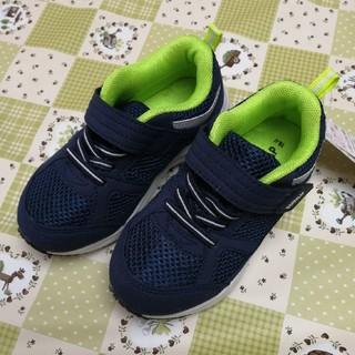 シマムラ(しまむら)の新品タグ付き★しまむら キッズ スニーカー シューズ 靴 16cm(スニーカー)