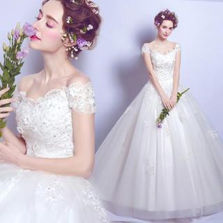 ウェディングドレス 前撮り 結婚式 二次会ドレス006