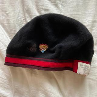 Vivienne Westwood - ヴィヴィアンウエストウッド ベレー帽 帽子 黒 レディース
