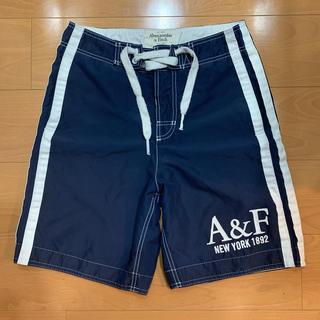 Abercrombie&Fitch - アバクロ 水着 XS Abercrombie&Fitch ハーフパンツ
