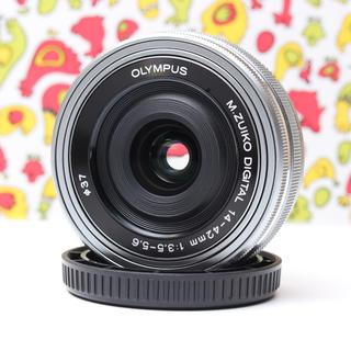 オリンパス(OLYMPUS)の☆超薄型★OLYMPUS  M ZUIKO 14-42mm  ☆オリンパス☆(レンズ(ズーム))